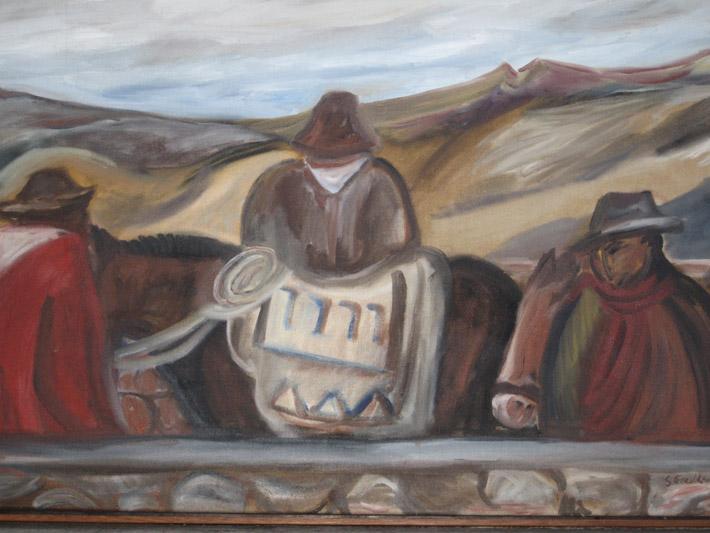 The Horsehirers, Peru
