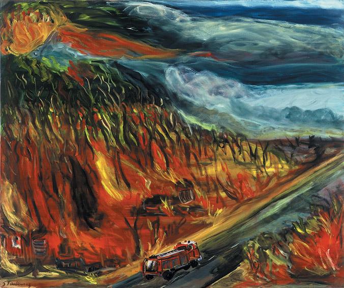 Mountain Burning