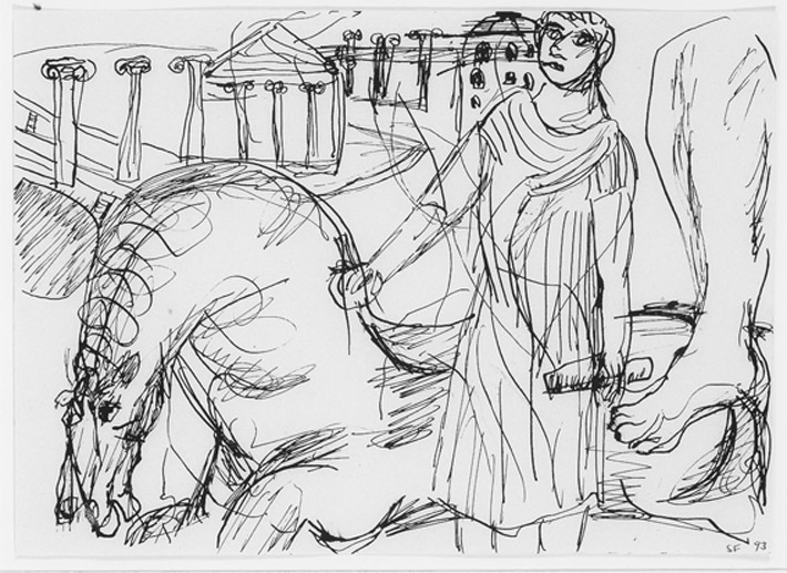 Drawings from Rome 2