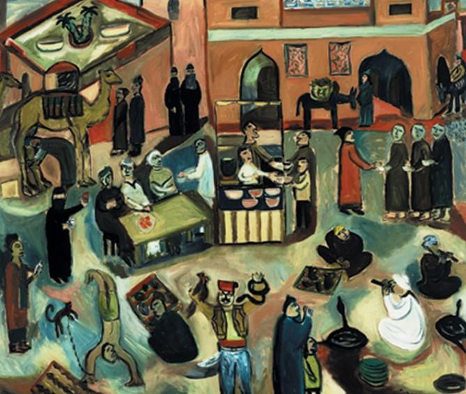 Market of the dead, Marrakech