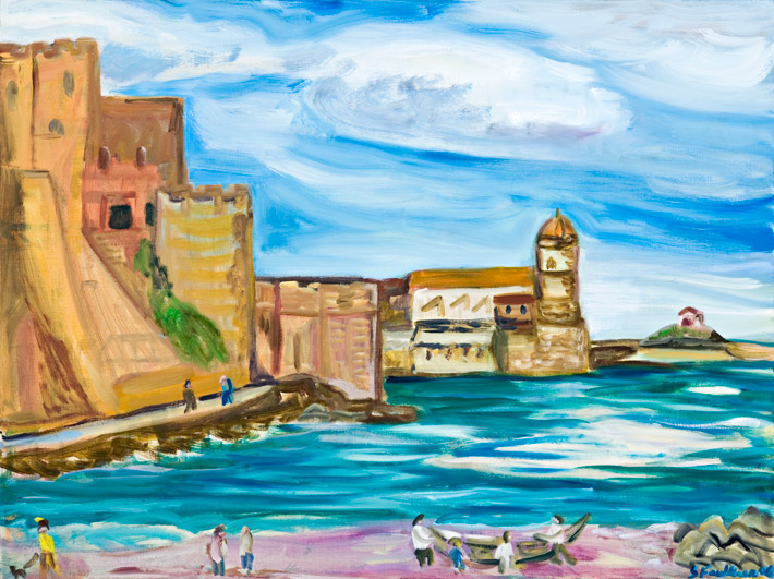 The castle at Collioure